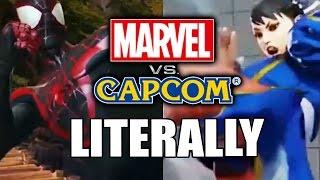 Marvel Copying Capcom?! Marvel VS Capcom...Literally
