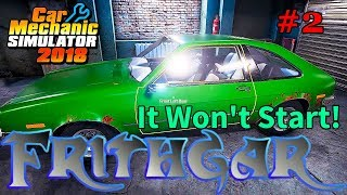 Let's Play Car Mechanic 2018 #9: The Car Won't Start!