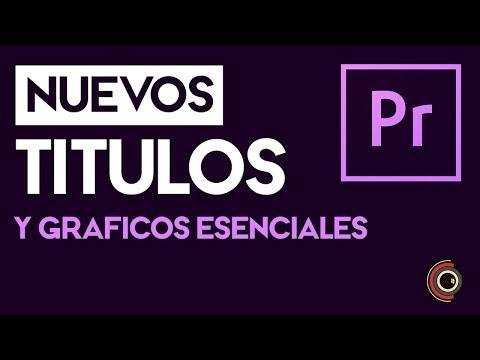 Xxx Mp4 Títulos Y Gráficos Esenciales Tutorial De Adobe Premiere Pro CC 2018 3gp Sex