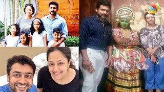 Actor Suriya on Family Vacation in Kerala with Jyothika & Nagma | Hot Tamil Cinema News