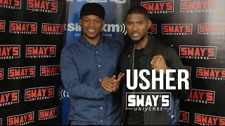 Usher Explains Why He Wanted a Sex Scene, Being Naked on Snapchat + Playing Sugar Ray Leonard