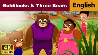Goldilocks and The Three Bears in English - Bedtime Story For Children - English Fairy Tales