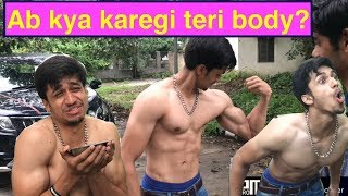 KYA KAREGI TERI BODY | Ab Banegi Meri Body | FIGHTS IN INDIA | GYM | Akash sagar