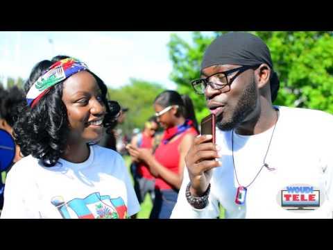 Bel fanm kreyol Haitian flag day interview