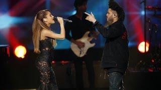 Ariana Grande & The Weeknd - Love Me Harder (AMAs 2014)