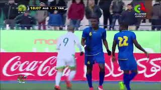 Algeria vs Tanzania 4-1 all goals and highlights(22/03/2018) friendly