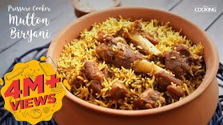 Pressure Cooker Mutton Biryani | Ventuno Home Cooking