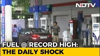 Fuel Prices At Fresh Record Highs