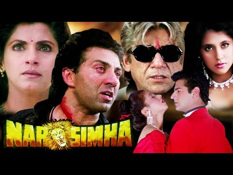 Xxx Mp4 Narsimha Full Movie In HD Sunny Deol Hindi Action Movie Dimple Kapadia Urmila Matondkar 3gp Sex