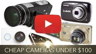 Cheap YouTube Cameras Under $100
