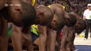 100m Sprint Men Finals Usain Bolt  {Berlin 2009 } [HD]