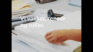 Washa vasker, renser og ruller tekstiler og tøj