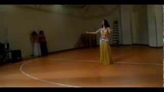 "Bellydance - ""Sahara Saidi"" - Classic Raqs sharqi drum solo"
