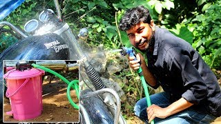 How to Make Portable Bike | Car Washer | Malayalam Tech video | Aswin Tech