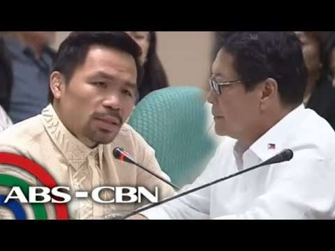 Xxx Mp4 ANC Live Pacquiao Fights Back Tears Over Fate Of Pinay Found In Freezer 3gp Sex