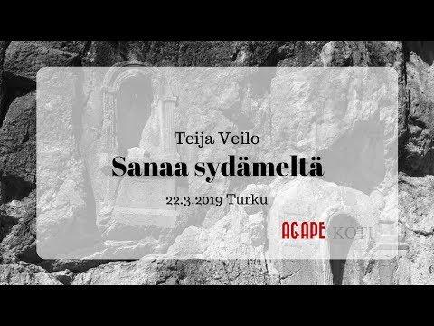 Xxx Mp4 Sanaa Sydämeltä Teija Veilo 22 3 2019 3gp Sex