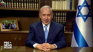 WATCH: Israeli PM Netanyahu responds to President Trump