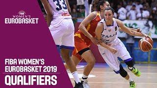 Italy v MKD - Full Game - FIBA Women's EuroBasket 2019 Qualifiers