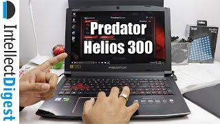 Acer Predator Helios 300 Gaming Laptop Unboxing & Hands On Overview by Intellect Digest