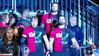 WWE Smackdown 11/14/17 The Shield invades