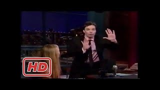 [Talk Shows]Jimmy Fallon Gets his first shot at late night from David Letterman
