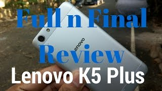 [Hindi - हिन्दी] Lenovo Vibe K5 Plus TheaterMax Full Review with Pros and Cons | Sharmaji Technical