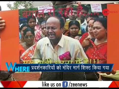 Xxx Mp4 5W1H Saradha Chit Fund Victims Protesting Against Mamata Banerjee In New Delhi 3gp Sex
