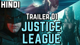 Justice League Trailer Hindi Review / Breakdown  | DC India