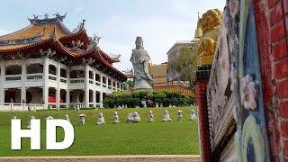 Kong Meng San Phor Kark See Monastery Singapore in HD Video