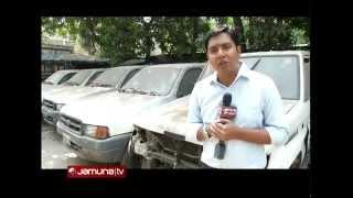 Car unused in Health Ministry, Bangladesh