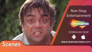 PARESH RAWAL scenes from RAJA | Madhuri Dixit | Sanjay Kapoor | Romantic Comedy Movie