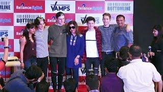 Farah Khan & British Boy Band Vamps At Media Interaction