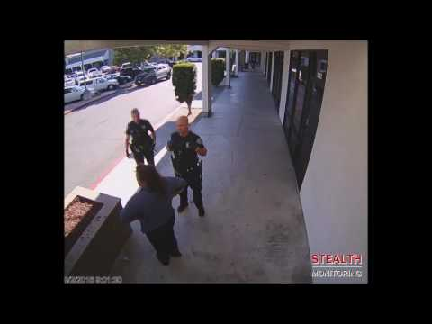 Public Urination in the Daytime in California Shopping Center