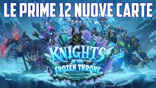 Hearthstone ITA: Le Prime 12 NUOVE Carte di Frozen Throne!