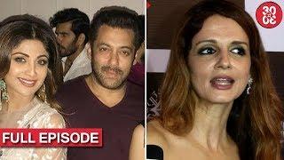 Salman, Sohail, Karisma Attend Arpita's Diwali Party | Sussanne On Kangana-Hrithik Controversy