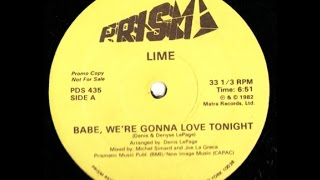 Lime - Babe We're Gonna Love Tonight (12
