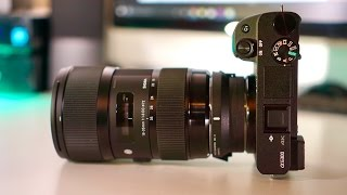 Sigma 18-35mm F1.8 + MC-11 + Sony A6300