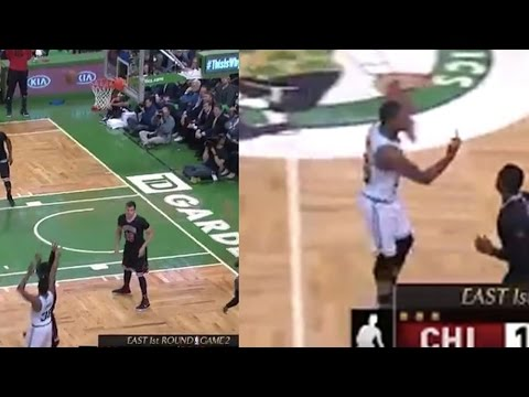 Marcus Smart Gives Celtics Fan the Finger After Missing 3 Pointer
