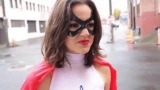 Cosplay- Superheroine Cosmic Girl