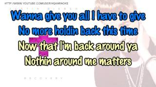 Justin Bieber - Recovery [Karaoke / Instrumental]