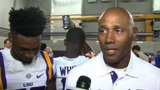 LSU's Corey Raymond DBU Interview