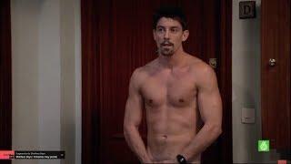 Adrián Lastra se desnuda en 'Buenagente'