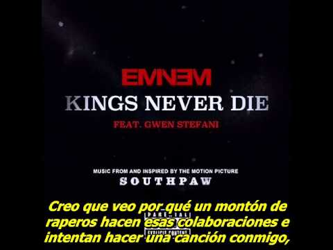 Eminem Kings Never Die Subtitulado al español Audio original