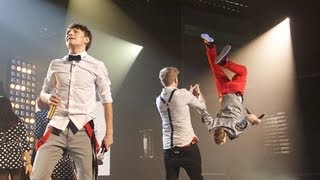 District3 sing a Madcon / Chris Brown medley - Live Week 3 - The X Factor UK 2012