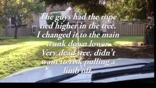 Pulling Down a Tree with a Truck
