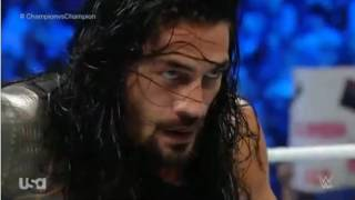 Roman Reigns vs The Miz WWE SMACKDOWN 28 April 2016 Part 2