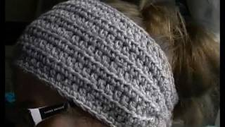 Download How to Crochet a Earwarmer / Headband - Part 1 of 2 - You can make a Preemie to Adult size 3Gp Mp4