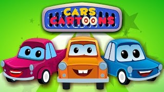 Cars Cartoons - Meet The Cars Of Cars Cartoon | Car Song And Car Rhymes