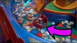 CLAW MACHINE FILLED WITH WATER (INSANE)
