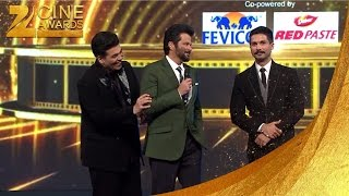 Zee Cine Awards 2016 Anil Kapoor gets Angry at Shahid & Karan Johar